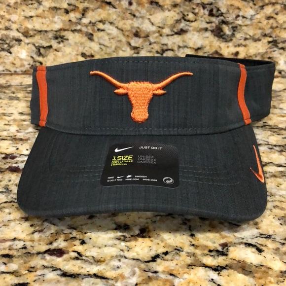 eb5f3386af9e6 Texas Longhorns Nike NCAA Sideline Aero Visor